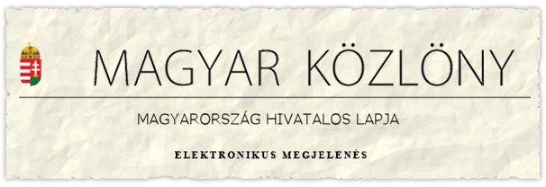 Magyar Közlöny Online 040c68ceb9